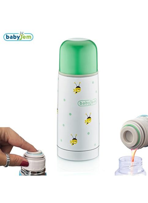 Baby Jem Babyjem Bebek Termosu 350Ml  Yeşil